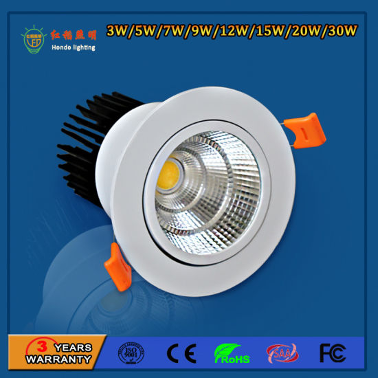 High Power 90lm/W 9W LED Spot Lights for Hotels pictures & photos