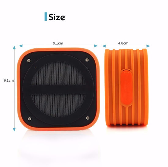 Factory Wholesale Mini Portable Bluetooth Wireless Speaker pictures & photos