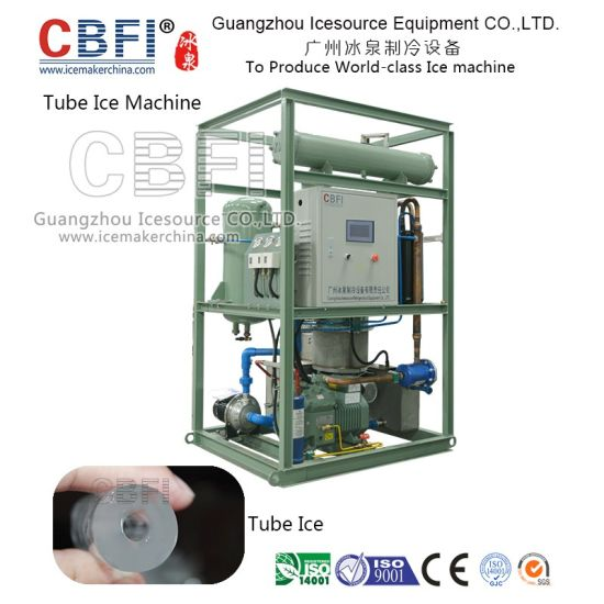 Newest Design Commercial Tube Ice Making Machine with Daily Capacity 1 ~ 30 Tons / Day pictures & photos