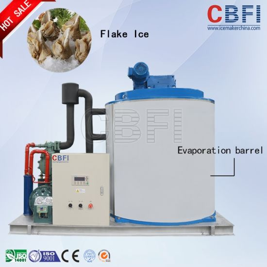 Flake Ice Machine Eight Tons Daily for Freshening pictures & photos