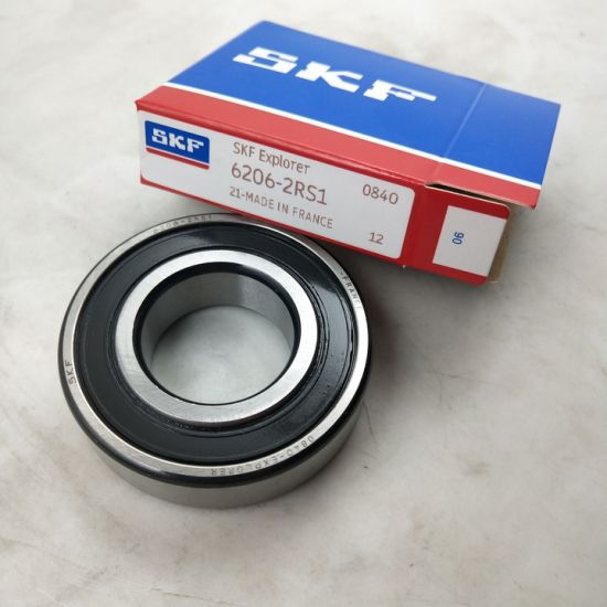 4 pcs SKF 6003-2RS1 rubber seals deep groove ball bearing Made in France