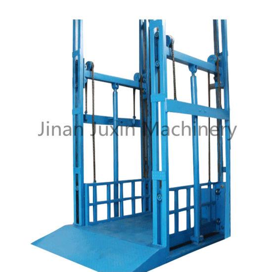 Lifting Speed Small Hydraulic Warehouse Floor Cargo Lift