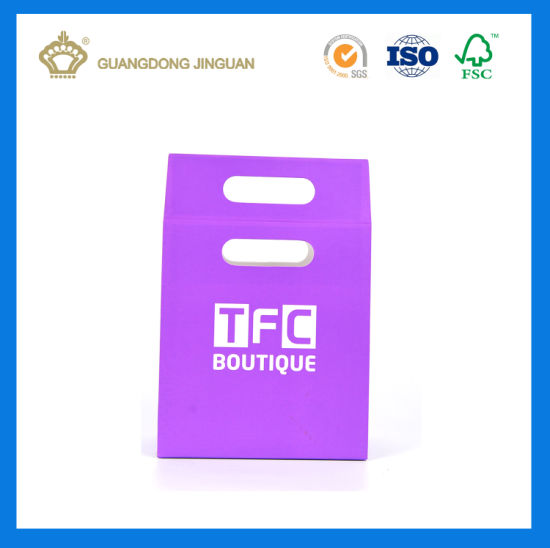 Cheapest Promotional Selling Paper Carrier Bag with Die Cutting Handle (For Perfume) pictures & photos