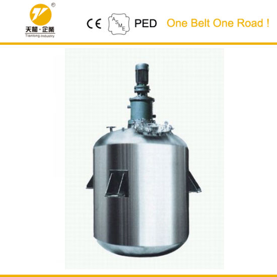 Stainless Steel Mixing Extracts Chemical Storage Ce Certified Tank