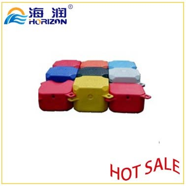 Optional Colors Plastic Pontoon HDPE Cube Water Facilities