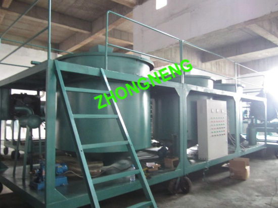 Engine Oil Recycling Plant, Dirty Engine Oil Distillation Plant, Black Engine Oil Purification Plant