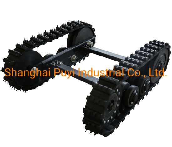 Small Size Tracked Chassis Steel Structure Dp-Bsd-70 pictures & photos