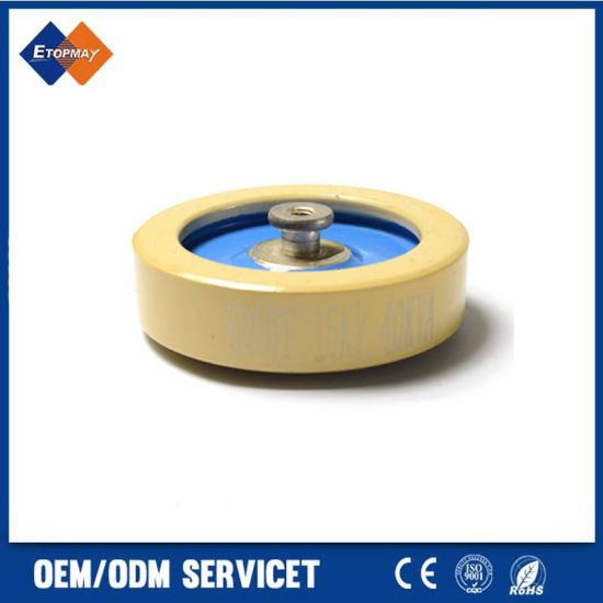 Voltage Ceramic Capacitor for CCG81-3 500PF 15KV 75KVA High Frequency
