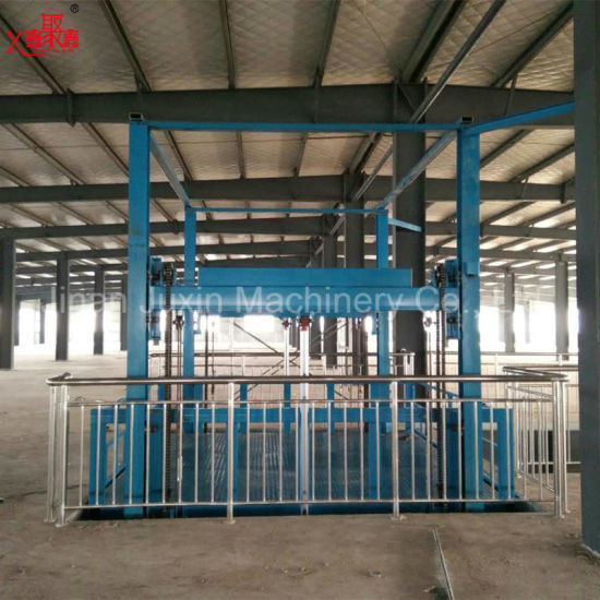 500kg Good Quality Fixed Vertical Guide Rail Elevators Hydraulic Warehouse Cargo Lift Price