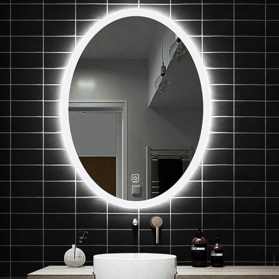 Led Mirror Smart Backlit Bluetooth, Lighted Bathroom Mirror Cabinet