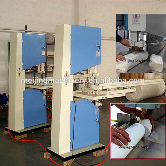 Paper Mill Band Saw Toilet Paper Cutting Machine