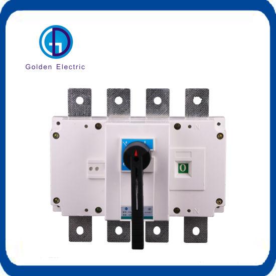 China 250a 3 Pole Load Disconnect Switch Ac Dc Main