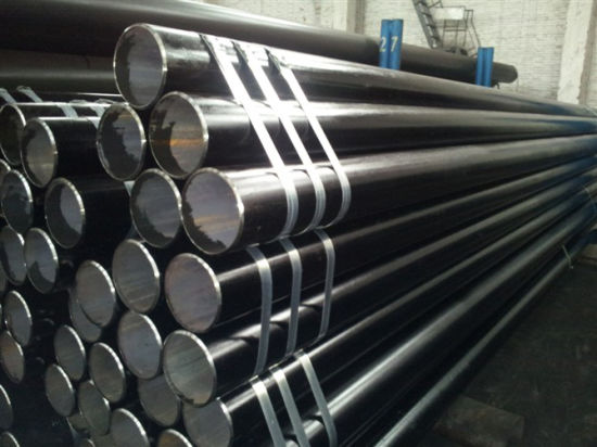 China ASTM A333 Gr6 Stpg 370 Sch 120 Carbon Steel Seamless Pipe