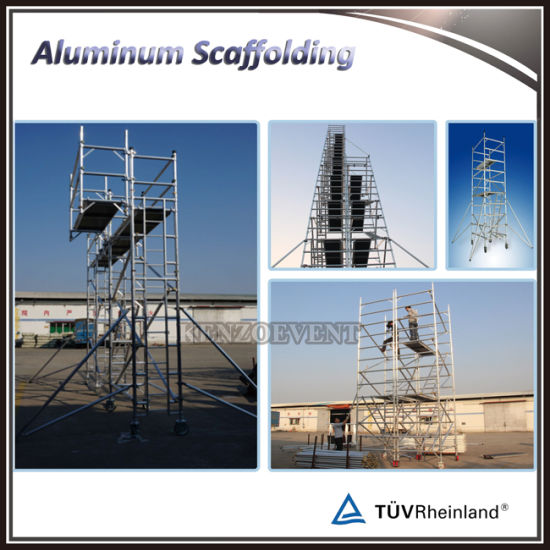 High Quality Aluminium Mobile Scaffolding Tower pictures & photos