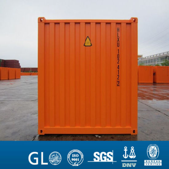 ISO Container 20FT Shipping Container with Color Customized Service