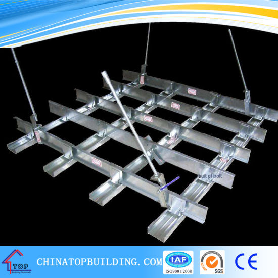 Suspended Steel Channel Ceiling System For Gypsum Board Ceiling
