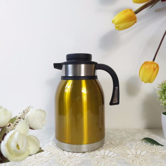2014 New Design Double Wall Stainless Steel S/S Water Themos Coffee Jug (JSBA) pictures & photos