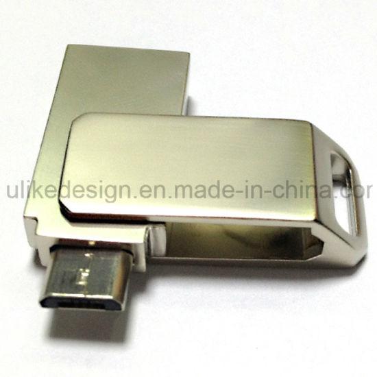 Metal Promotional OTG USB Flash Drive (UL-OTG019)
