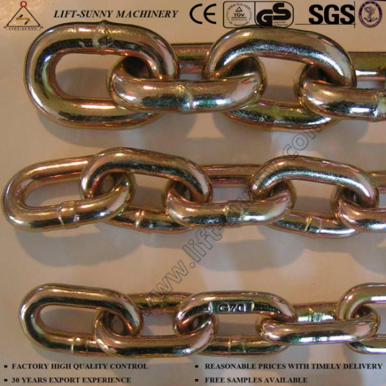 G70 Transport Chain Lashing Chain Alloy Steel Link Chains