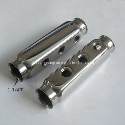 "1-1/4"" Stainless Steel 304 Floor Heating Manifolds pictures & photos"