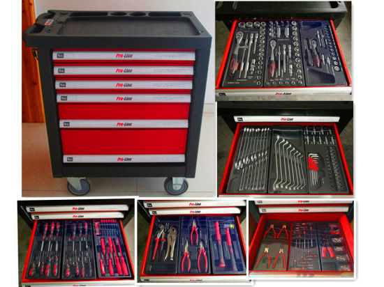435PCS -6 Drawers Heavy Duty Tool Cabinet (FY435A)