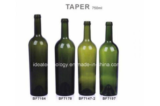 High Quality 500ml Green Bordeaux Wine Glass Bottles pictures & photos