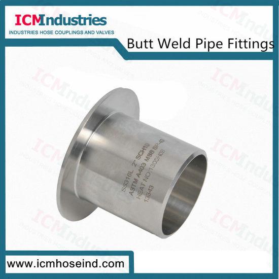 Stainless Steel 316 Type B Stub End Weld Pipe Fittings
