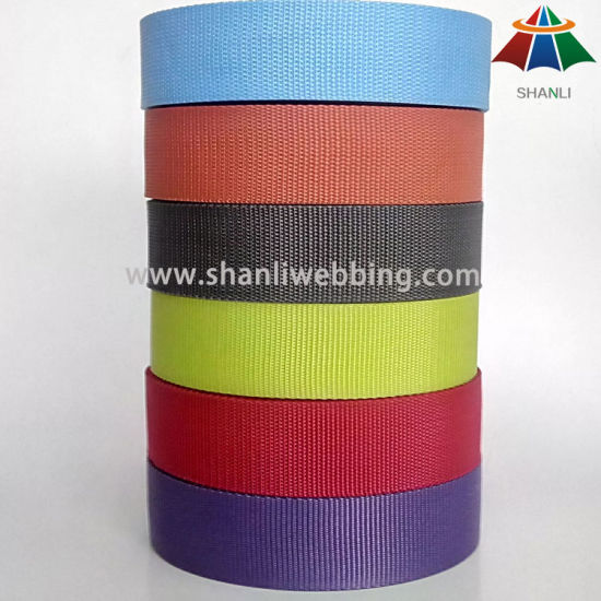 Wholesale 38mm Lightweight Flat PP Webbing