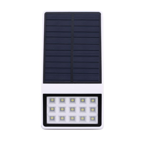 China Solar Powered Led Outdoor Wall Light Solar Led Wall