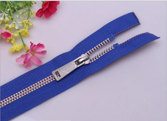 Nuguard Zipper 5#Derlin Blue Tape