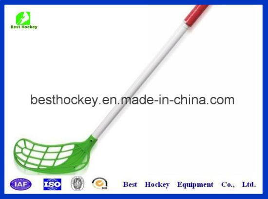 China High Quality Glass Fiber Unihockey Floorball Hockey Stick