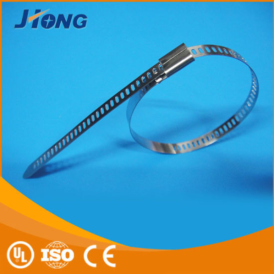 PV (Solar) Stainless Steel Cable Ties pictures & photos