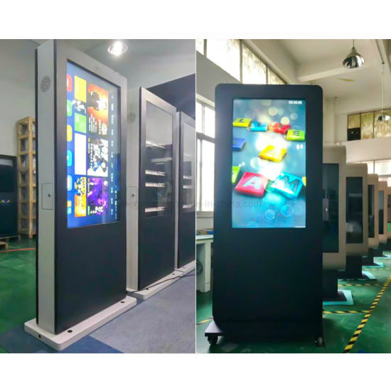 Yashi 55 Inch Outdoor Touch Screen Digital Signage LCD Advertising Player pictures & photos