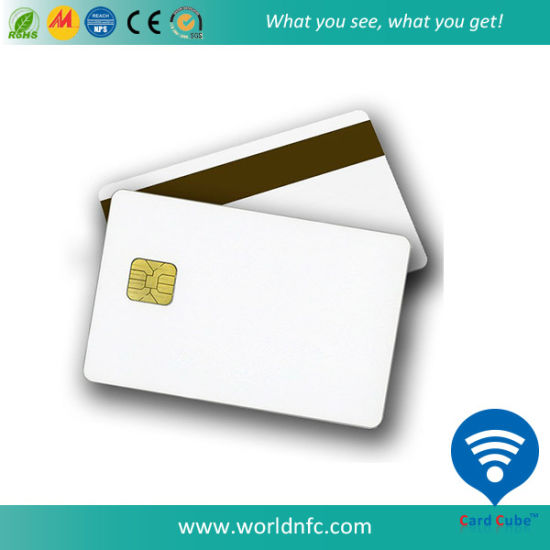High Quality PVC At88sc Smart Contact Chip Card for Medicare Card pictures & photos