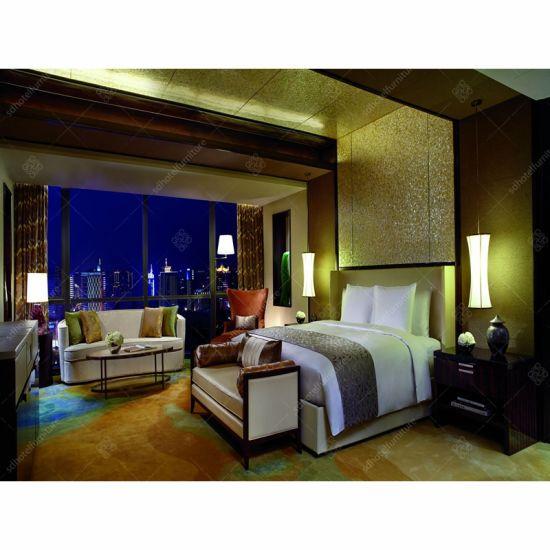 China High End Hotel Bedroom Furniture Sets King Size Bed Room