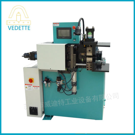 Automatic Copper Pipe Stainless Steel Tube End Forming Machine, CNC Tube Cutting Machine with Auto Fan