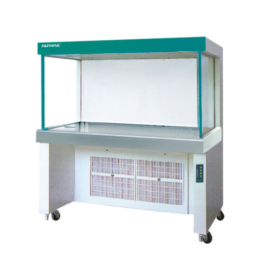 Two Persons One Side Lab Equipment Horizontal Type Laminar Flow Cabinet,