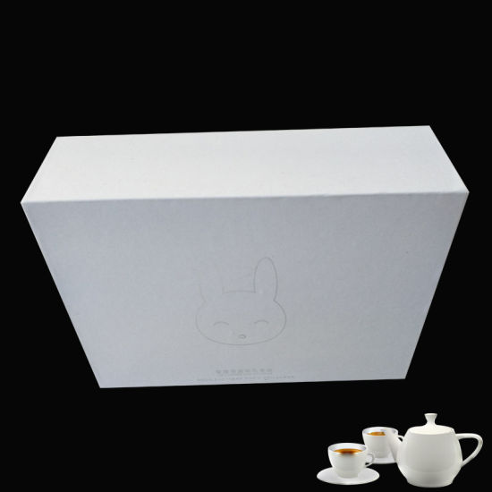 Wholesale Folding Gift Packaging Box Kraft Paper Box for Cup