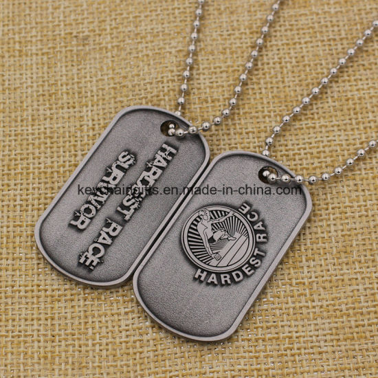 china wholesale bulk cheap personalized dog tags with chain china
