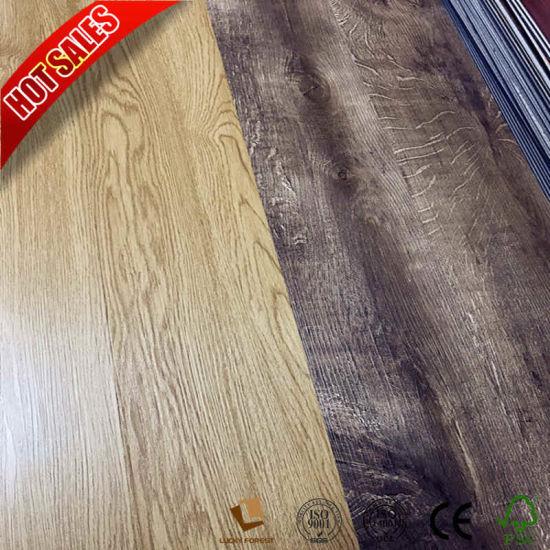 China Teak Texture Discontinued Allure Vinyl Plank Flooring China