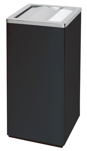 Black Iron Coated Waste Bin for Economy Hotel (YH-31) pictures & photos