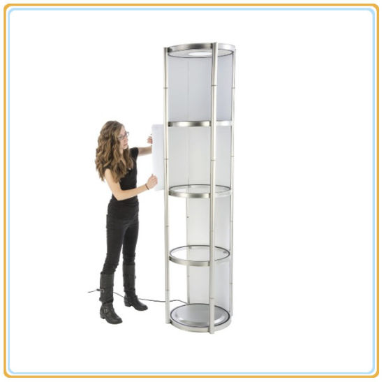 Portable Exhibition Case : China high quality portable exhibition booth for trade show 3m*6m