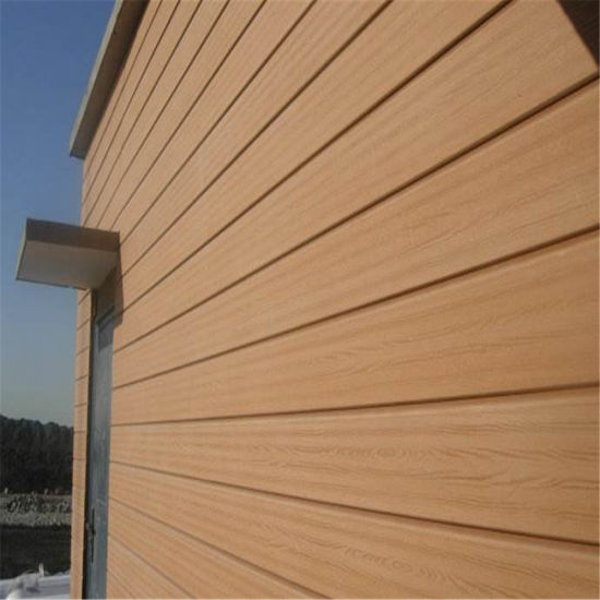 Outdoor WPC Wood Plastic Composite Wall Panel Wall Covering