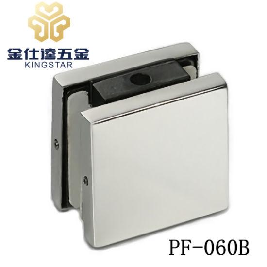 China Glass Door Steel Patch Fitting Clamp Pf 060b Door Hardware