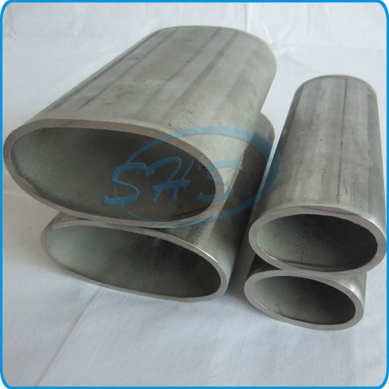 Stainless Steel Elliptical Oval Pipes for Decoration pictures & photos