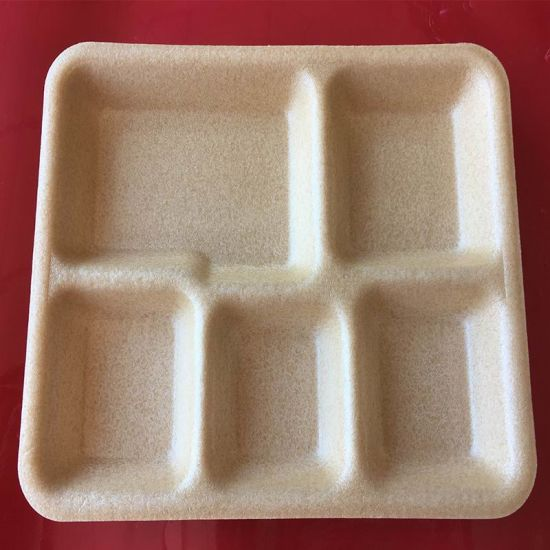 China Biodegradable Corn Starch Foam Meat Packaging Tray