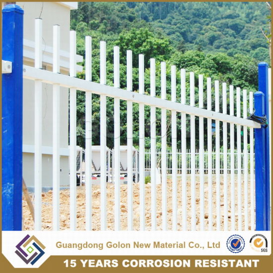 Knock Down Metal Garden Fence pictures & photos