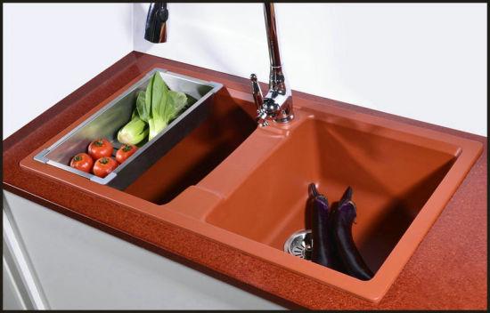 China Composite Granite Undermount Kitchen Sinks Sink ...