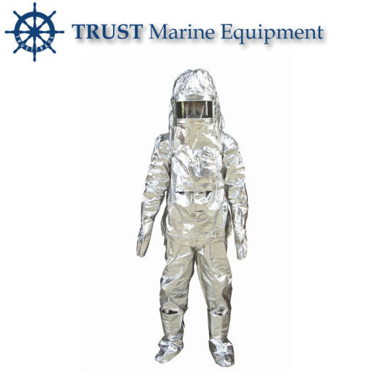 High Quality CCS Approved Fire Protective Fireman's Suit