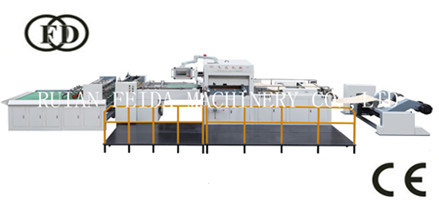 Paper Kfc Packaging Bag Box Fully Automatic Stripping Counting Stacking Roll Making Die Cutting Machine